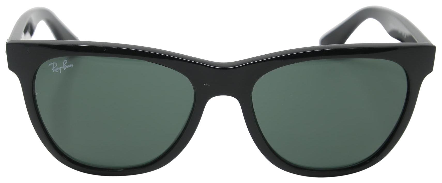 7c70f3ee579 ... coupon code ray ban signature high street black frame crystal polarized  green lenses 2d393 495a1
