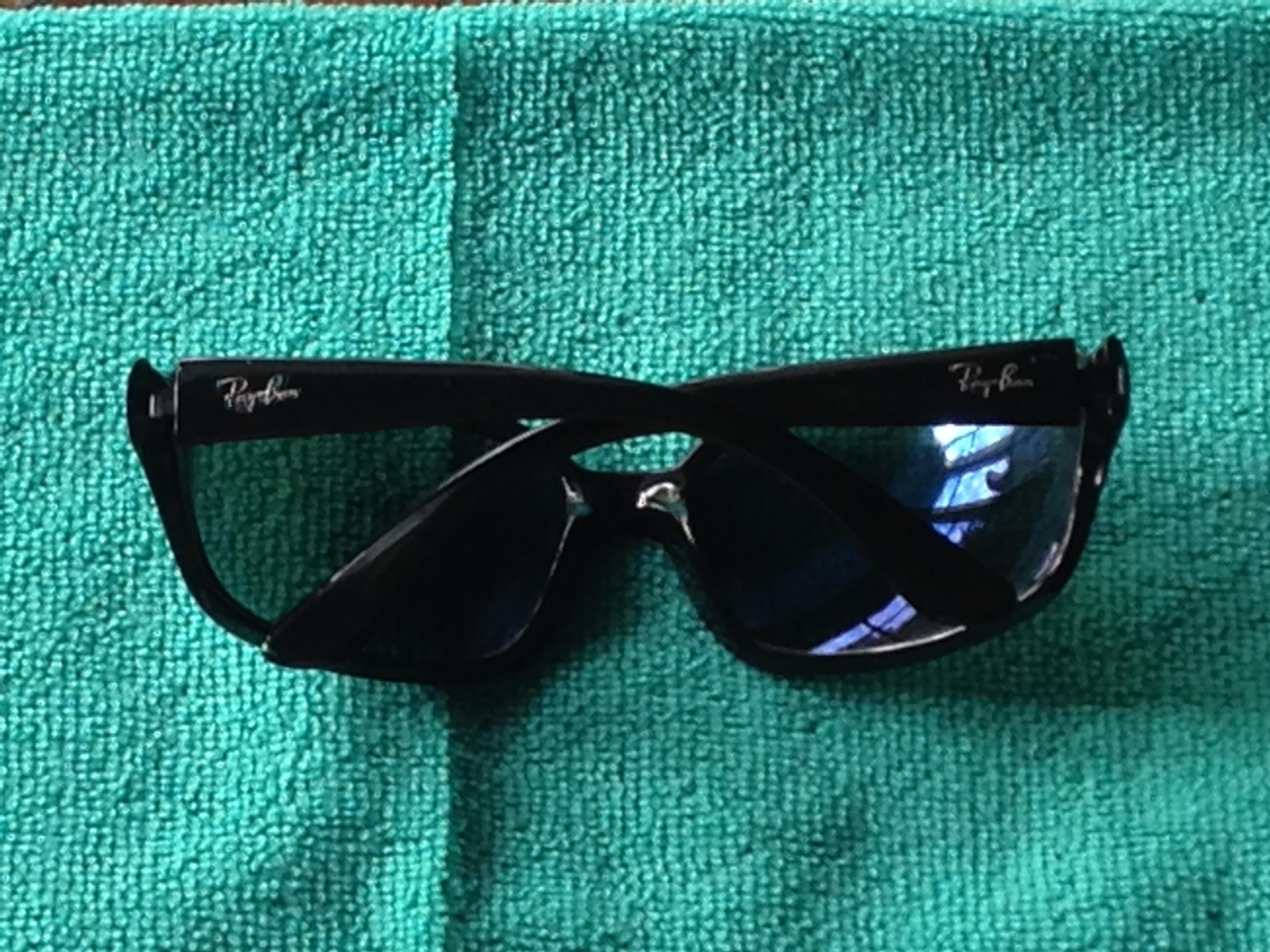 569e6469a5 ... inexpensive ray ban black womens 4068 oversized wrap sunglasses tradesy  c82b0 ee22a