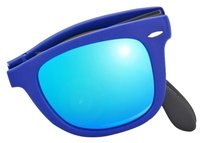 Ray-Ban Ray-Ban Foldable Blue Reflective Mirror Wayfarer Sunglasses