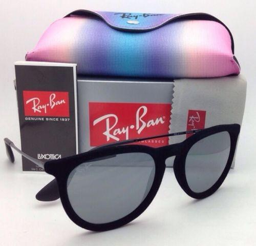 157b62fb48a ... discount code for ray ban rb 4171 erika 6075 6g black velvet frame w  gray mirror