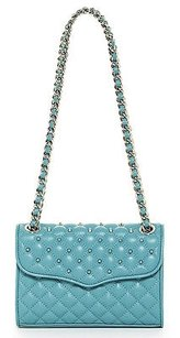 Rebecca Minkoff Teal Quilted Cross Body Bag