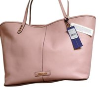 Rebecca Minkoff Soft Deluxe Leather Tote in Baby Pink