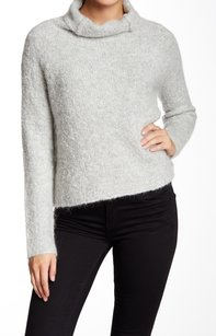 Rebecca Taylor Acrylic Long Sleeve Mock Sweater