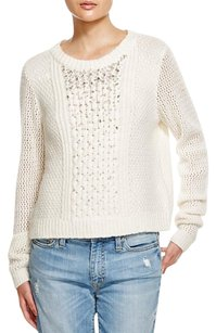 Rebecca Taylor Cashmere Sequin Embellished Beaded Sweater