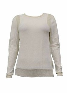 Rebecca Taylor Cotton Nylon Knit 190631f Sweater