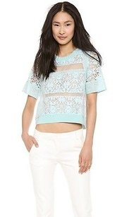 Rebecca Taylor Light Top Blue