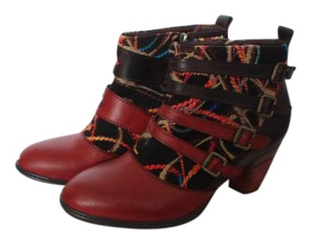 Red/Multicolor/Brown 10 Redding Boots/Booties Size US 10 Red/Multicolor/Brown Regular (M, B) c0db97