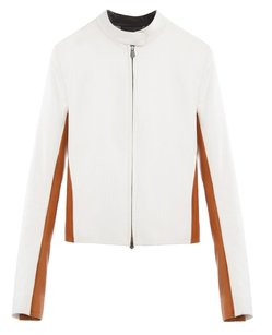 Reed Krakoff White/Light Brown/Black Jacket