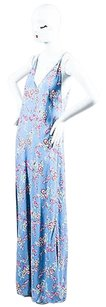 Periwinkle Blue, Pink, Yellow, White, Green Maxi Dress by Reformation Blue Yellow