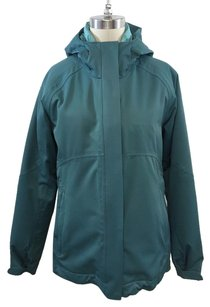 REI Hooded All Weather Teal Jacket