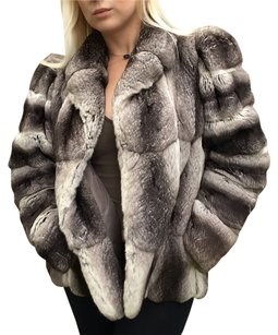 Revillon Saks Chinchilla Fur Luxury Fur Coat