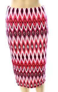 Rhyme Nor Reason New With Tags Pencil Polyester Size-s 3247-3166 Skirt