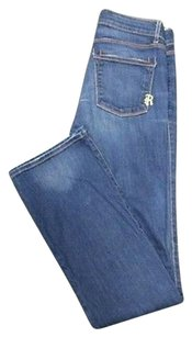Rich & Skinny And Blue Wash Pocket Solid 27 Sma9978 Skinny Jeans