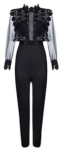 Rich Girl Straight Pants Black