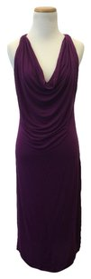 violet pink Maxi Dress by Rille & Fount &