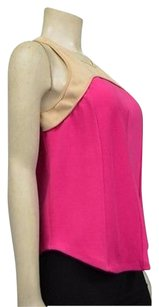 Robbi & Nikki by Robert Rodriguez Hot Pinkbeige Top Pink/beige