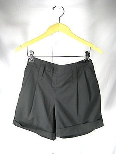 Robert Rodriguez Cuffed Dress Shorts Black