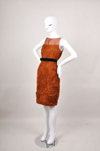 Robert Rodriguez Copper Dress