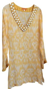 Roberta Freyman ROBERTA FREYMANN BEADED SHEER COVER UP