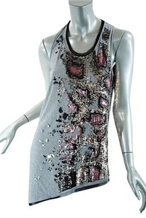 Roberto Cavalli Top Heather Gray
