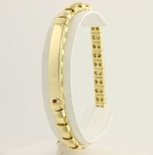 Roberto Coin Roberto Coin Appassionata Bracelet 14 - 18k Yellow White Gold Ruby Accents