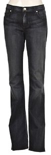 Rock & Republic Amp Kasandra Womens Blue 31dark Wash Pants Cotton Flare Leg Jeans