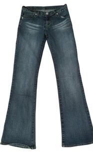 Rock & Republic Hip Hugger Skinny Flare Boot Cut Jeans-Medium Wash