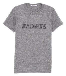 Rodarte Designer Gray T Shirt Heather Gray