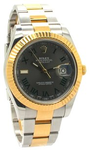 Rolex Datejust II Champagne Dial 18k Two-tone Gold Men's Watch