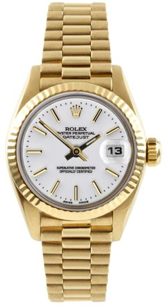 Preload https://item3.tradesy.com/images/rolex-gold-datejust-18k-yellow-white-dial-ladies-presidential-watch-5353972-0-0.jpg?width=440&height=440