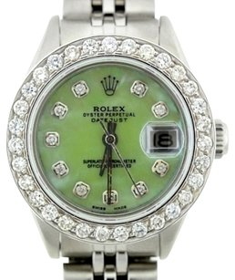 Rolex Ladies Rolex Datejust 2CT Diamond Watch with Rolex Box & Appraisal