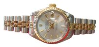 Rolex Ladies Rolex Oyster Perpetual Datejust 18k Yellow Gold And Stainless Steel Watch