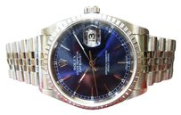 Rolex Mens Rolex 2003 Oyster Perpetual Datejust Stainless Steel Ref 16220 Watch