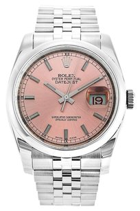 Rolex Mens Rolex Datejust 116200 Stainless Steel Automatic Watch