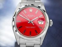 Rolex Mens Rolex Oyster Perpetual 15000 Swiss Automatic Ss Watch Circa 1970 7111
