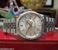 Rolex Mens Rolex Oyster Perpetual Datejust Stainless Steel