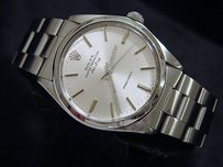 Rolex Mens Rolex Stainless Steel Air-king Precision No-date Watch Oyster Silver 5500