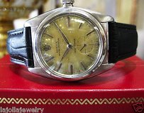 Rolex Mens Vintage Rolex Oyster Perpetual Bubbleback Stainless Steel 2764 Circa 1939