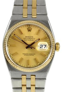 Rolex Oysterquartz Datejust Two Tone Ref 17013 18K & Stainless Steel 1979