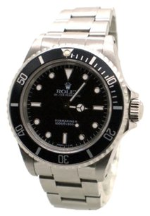 Rolex Rolex No Date Submariner 14060 Stainless Steel Black Dial Men's Watch