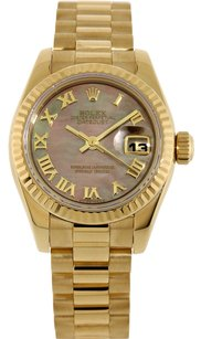 Rolex Rolex 18K original Tahitian MOP Dial Ladies Presidential Watch