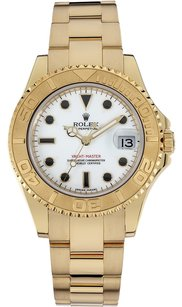 Rolex Rolex Yacht-master 18K Yellow Gold White Dial Unisex Watch