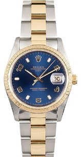 Rolex Rolex 18K/SS 34mm Oyster Perpetual Date Unisex Watch