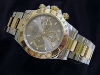 Rolex Rolex 2tone 18k Yellow Goldstainless Steel Cosmograph Daytona Gray Slate 116523