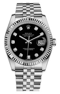 Rolex Rolex Black Diamond DateJust Watch 116234