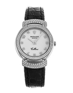 Rolex Rolex Cellini Cellisima 18K 6673/9 Original Diamond Ladies Watch