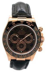 Rolex Rolex Cosmograph Daytona 18K Rose Gold Chocolate Dial Men's Watch