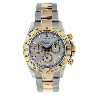 Rolex Rolex Cosmograph Daytona Stainless Steel And Yellow Gold 116523 - Grey Dial