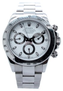 Rolex Rolex Cosmograph Daytona 116520 Stainless Steel White Dial Men's Watch