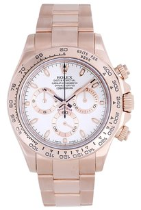 Rolex Rolex Cosmograph Everose Daytona Men's 18k Rose Gold Watch 116505